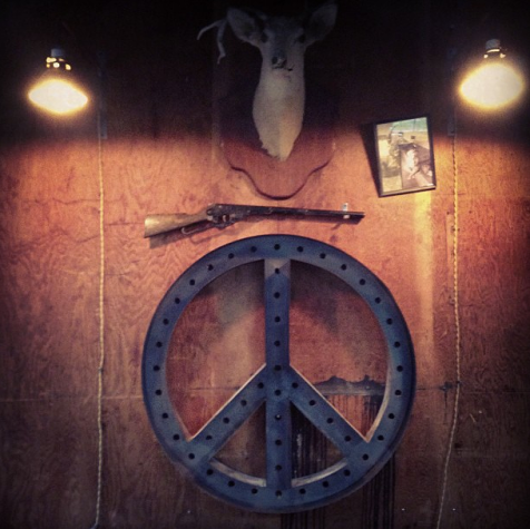 In progress Peace Sign