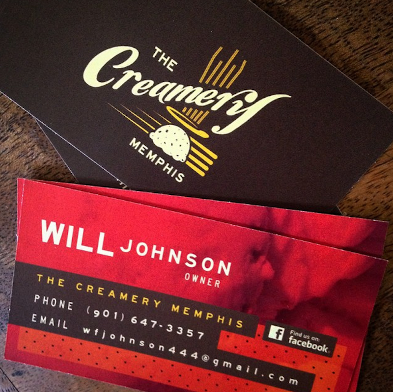 The Creamery Business Cards