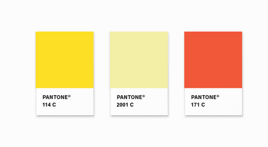 The Creamery Pantone